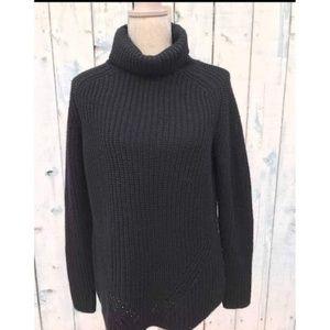 Trina Turk Black Turtleneck Sweater